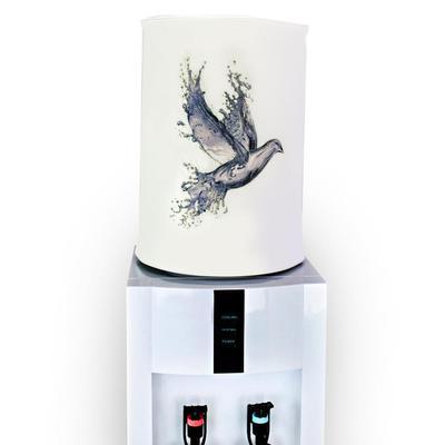 Чехол для бутылей 19 л Птица белый