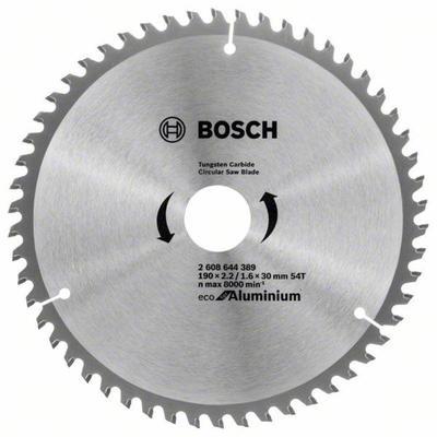Диск пильный по алюминию Bosch Eco Aluminium 190x30 мм (2.608.644.389)