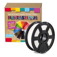 Пластик PLA для 3D-принтера Funtastique белый 1.75 мм 1 кг