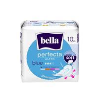 Прокладки женские гигиенические Bella Perfecta Ultra Blue (10 штук в упаковке)
