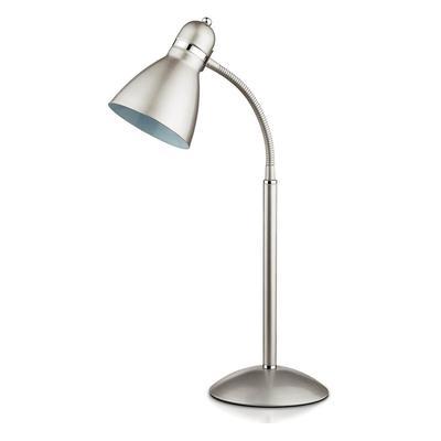 Светильник настольный Odeon Light Mansy 2409/1T E27 серебристый