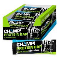 Батончик Champ! ореховый протеиновый (18 штук в упаковке)