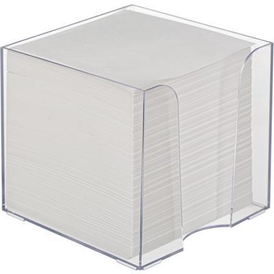 Блок для записей Attache 90x90x90 мм белый в боксе (плотность 65 г/кв.м)