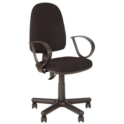 Кресло офисное Jupiter черное (ткань/пластик/металл)