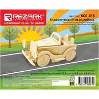Сборная модель из дерева Rezark Пазл 3D Классический автомобиль
