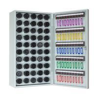 Пенальница Мн КЛ-50П светло-серая (на 50 ключей, металл)