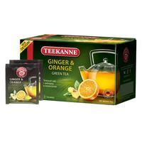 Чай Teekanne Ginger-Orange зеленый 20 пакетиков