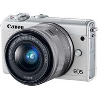 Фотоаппарат Canon EOS M100 kit + объектив EF-M 15-45 IS STM белый