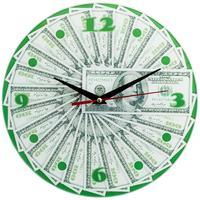 Часы настенные Эврика 100$ (29x29x2 см)