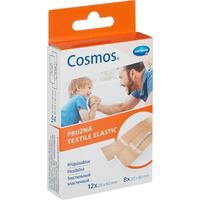 Набор пластырей Cosmos textil elastic эластичные 2 размера (20 штук в упаковке)