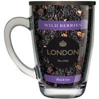 Чай подарочный London Tea Club Лесные ягоды листовой черный 70 г