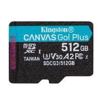 Карта памяти 512 ГБ microSDXC Kingston Canvas Go! Plus Class 10 UHS-I (SDCG3/512GBSP)