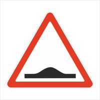 Дорожный знак Искусственная неровность