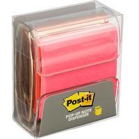 Диспенсер для Z-блоков Post-it Розовое золото + стикеры 76x76 мм розовые 45 листов