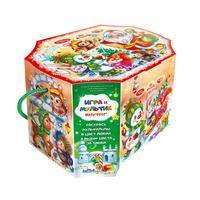 Новогодний сладкий подарок Шоколадная шкатулка картон 700гр ОК15657L112