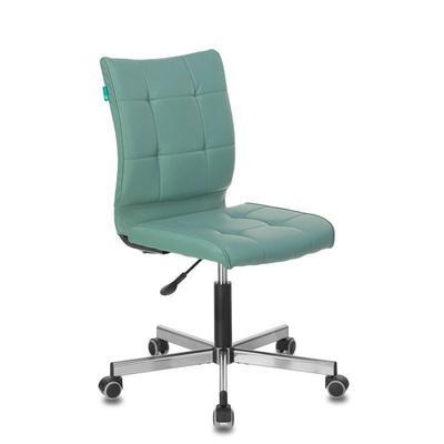 Кресло офисное Бюрократ CH-330M серое (искусственная кожа, металл)