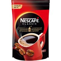 Кофе растворимый Nescafe Classic 250 г (пакет)