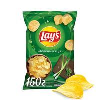 Чипсы картофельные Lay's молодой зеленый лук 150 г