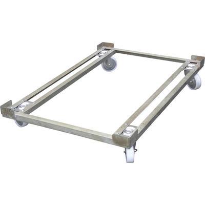Тележка для ящиков металлическая 1220x820x200 мм серая