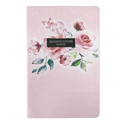 Ежедневник датированный 2021 год InFolio Belle искусственная кожа A5 176 листов розовый (140x200 мм)