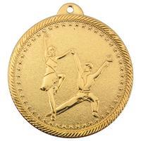 Медаль призовая 1 место Танцы 50 мм