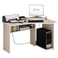 Стол компьютерный угловой Триан-1 правый (дуб сонома, 1200x750x900 мм)