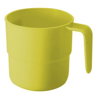 Кружка кемпинговая Plastic Centre пластиковая желтая 250 мл пластик 90 штук в коробе (артикул производителя ПЦ1430)
