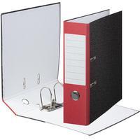 Папка-регистратор Attache Economy 80 мм мрамор/красный корешок