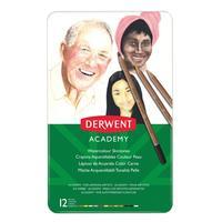 Карандаши акварельные Derwent Academy Watercolour Skintones 12 цветов