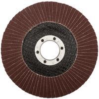 Круг шлифовальный лепестковый торцевой (115 мм, Р 120) FIT (39546)