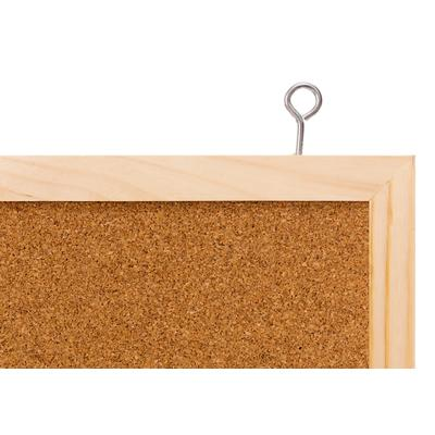 Доска пробковая Attache Элементари 30х40 см деревянная рама