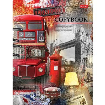 Тетрадь на кольцах Мечты о Лондоне А5 160 листов в клетку