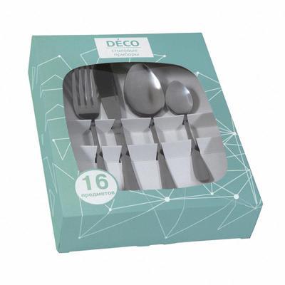 Набор столовых приборов Deco Традиционный 16 предметов (артикул производителя 63871)