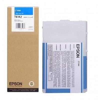 Картридж струйный Epson C13T614200 голубой оригинальный повышенной емкости