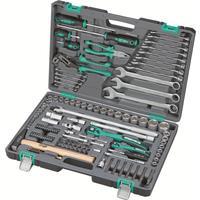 Набор инструмента Stels 119 предметов (1/4, 1/2, CrV, S2, усиленный кейс, артикул поставщика 14112)