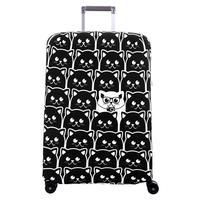 Чехол для чемодана Routemark Неотразимый M/L черный/белый (Неотразимый-M/L)