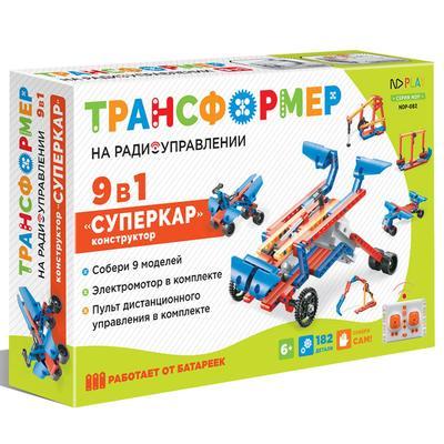 Конструктор NDPlay Суперкар 9 в 1