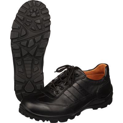 Кроссовки мужские DIVO из натуральной кожи черные (размер 45)