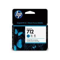 Картридж струйный HP 712 3ED67A голубой оригинальный