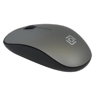 Мышь компьютерная Oklick 515MW черно-серая