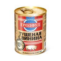 Тушенка Гродфуд из свинины 338 г