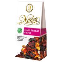 Чайный напиток подарочный Nadin Нахальный фрукт листовой травяной с ароматом клубники и малины  50 г