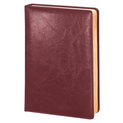Ежедневник датированный 2022 год Infolio Challenge искусственная кожа А5  176 листов бордовый (золотой обрез, 140x200 мм)