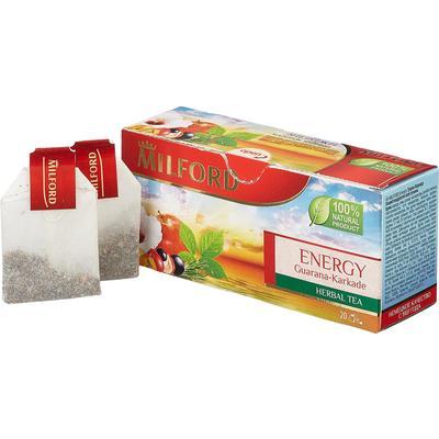 Чай Milford Energy травяной 20 пакетиков