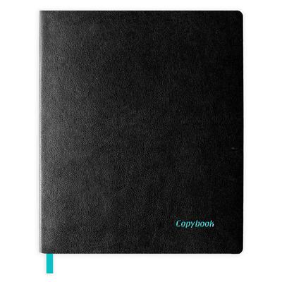 Бизнес-тетрадь Escalada Copybook А4+ 80 листов черная в клетку на склейке (220x266 мм)