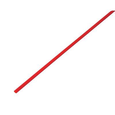 Трубка термоусадочная REXANT 3,0/1,5 мм, красная (50 шт/уп по 1 м)