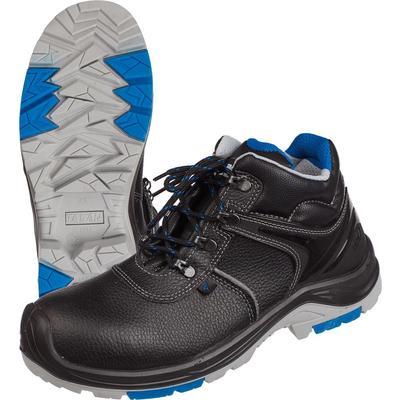 Ботинки Flagman натуральная кожа черные с композитным подноском размер 46