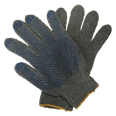 Перчатки рабочие акриловые с ПВХ покрытием утепленные