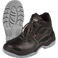 Ботинки утепленные Lider натуральная кожа черные с металлическим подноском размер 40