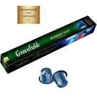 Чай в капсулах для кофемашин Greenfield Fusion Way (10 штук в упаковке)